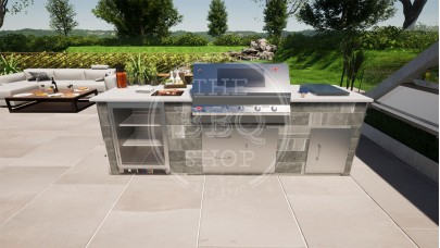 Yukon BeefEater BBQ Outdoor Kitchen - The Deluxe Pro