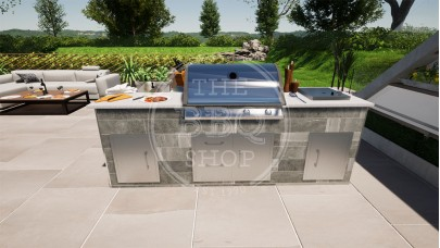 Yukon Napoleon BBQ Outdoor Kitchen - The Pro