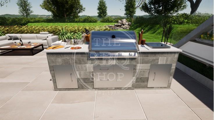 Yukon Napoleon BBQ Outdoor Kitchen - The Pro
