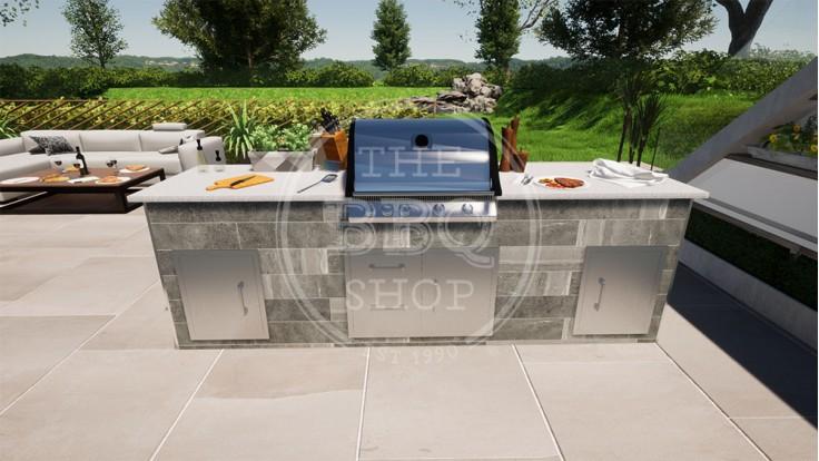 Yukon Napoleon BBQ Outdoor Kitchen - The Standard