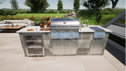 Yukon Whistler Grills BBQ Outdoor Kitchen - The Pro