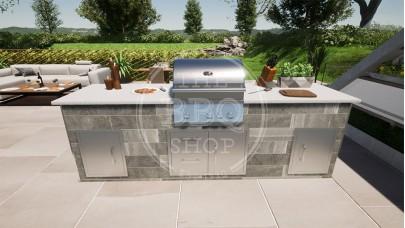 Yukon Whistler Grills BBQ Outdoor Kitchen - The Standard