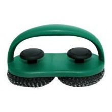 Big Green Egg Dual Brush Scrubber