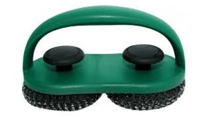 Big Green Egg Dual Brush Scrubber