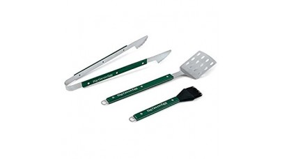 Big Green Egg Professional Grade BBQ Tool Set with Wood Handles