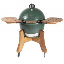 Big Green Egg XL Bundle with Royal Mahogany Nest