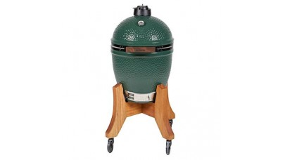 Big Green Egg Medium Bundle with Royal Mahogany Nest