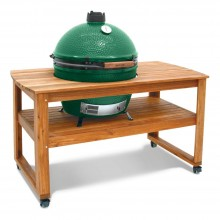 Big Green Egg XL Acacia Table Bundle