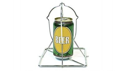 Big Green Egg Beercan Chicken Rack