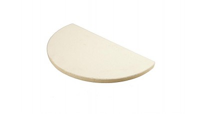 Big Green Egg Ceramic Half Moon Plancha for XL