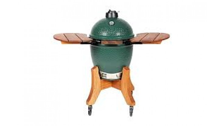 Big Green Egg Royal Mahogany Folding Shelves for XL