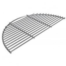 Big Green Egg Stainless Steel Half Grid for Large EGGspander System