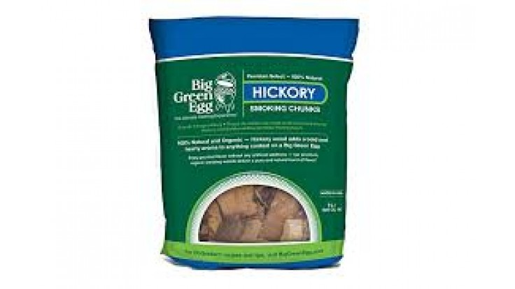 Big Green Egg Hickory Chunks