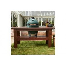 Big Green Egg Large Premium Royal Mahogany Table Bundle