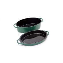Big Green Egg Enamelled Cast Iron Dutch Oven 5.2l