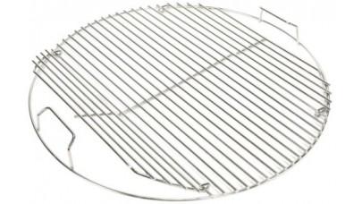 47cm Stainless Steel Hinged Grid 17433 - Weber