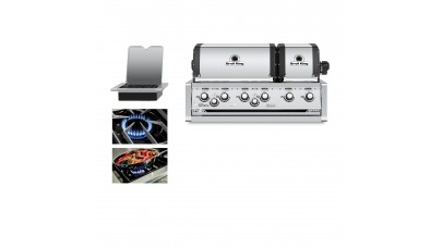 Broil King Imperial 690 Natural Gas Built In Grill Head - Free Cover
