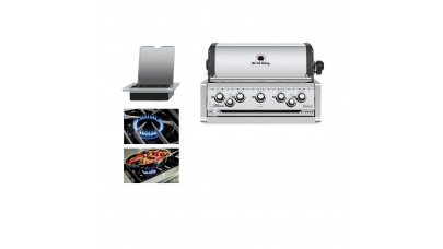 Broil King Imperial 590 Natural Gas Built In Grill Head - Free Cover
