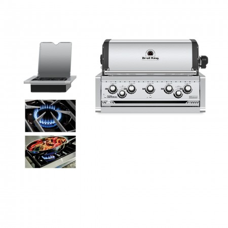 Broil King Imperial 590 Natural Gas Built In Grill Head