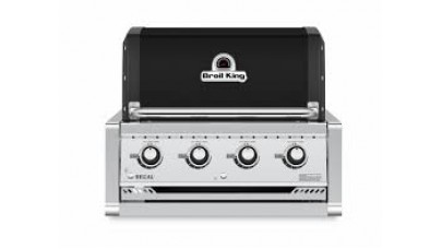 Broil King Regal 420 Natural Gas Built In Grill Head - Free Cover