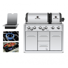 Broil King Imperial 690 Built In Cabinet BBQ - Free Cover