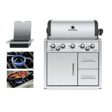 Broil King Imperial 590 Built In BBQ with Cabinet - Free Cover