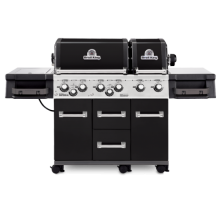Broil King Imperial XL Black w/ Free Cover & Cookbook