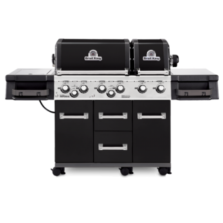 Broil King Imperial XL Black Gas BBQ - Free Cover
