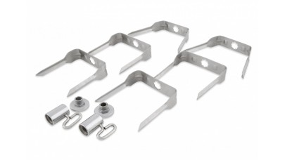 Broil King Stainless Steel Mega Spit Forks - 50500