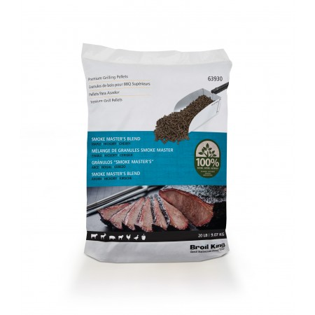 Broil King Smoke Master's Blend Wood Pellets 9kg - 63930