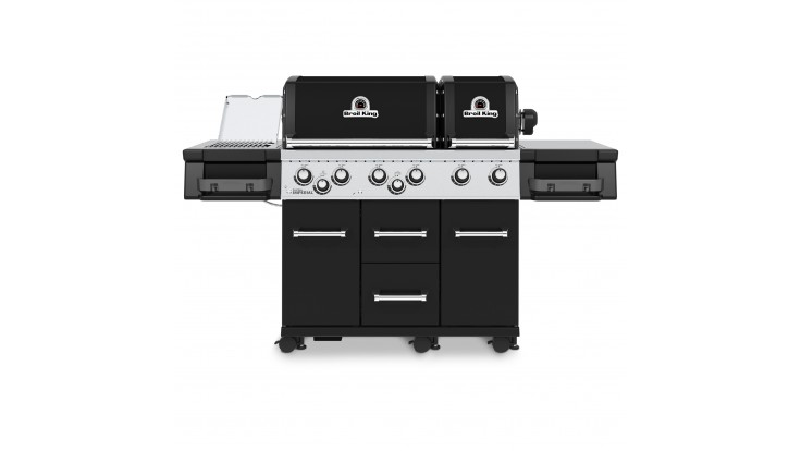 Broil King Imperial 690 IR Gas BBQ - Free Cover