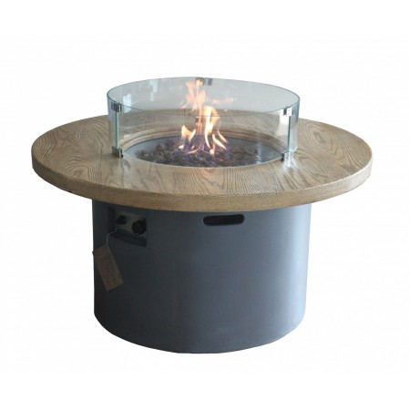 Sarin Gas Fire Pit - Glass Screen