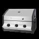 Cadac Meridian 3 Burner Built In Gas BBQ