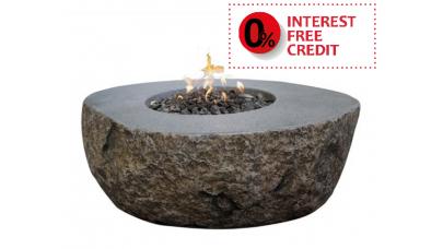 Elementi Fibre Rock Outdoor Firepit