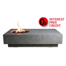 Elementi Metropolis Fire Pit Table