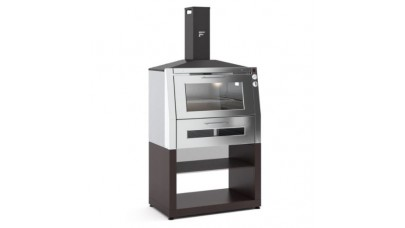 Fontana - Char-Oven Charcoal & Wood fired Oven with Trolley
