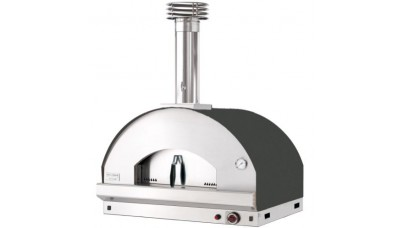 Fontana - Mangiafuoco Built In Gas Pizza Oven - Anthracite