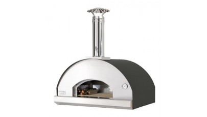 Fontana - Mangiafuoco Built in Wood Pizza Oven - Anthracite