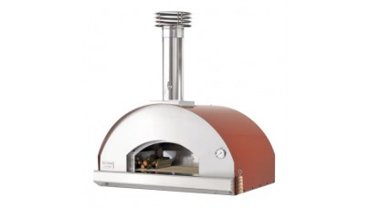 Fontana - Mangiafuoco Built in Wood Pizza Oven - Rosso