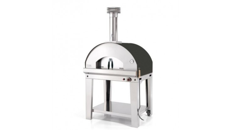 Fontana - Mangiafuoco Gas Pizza Oven with Trolley - Anthracite