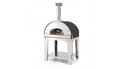 Fontana - Mangiafuoco Wood Pizza Oven with Trolley - Anthracite