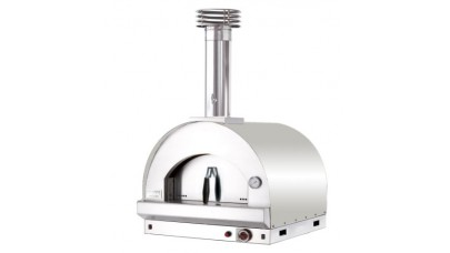Fontana - Margherita Built in Gas Pizza Oven - Stainless Steel