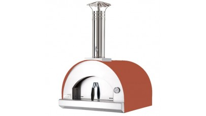 Fontana - Margherita Built in Wood Pizza Oven - Rosso