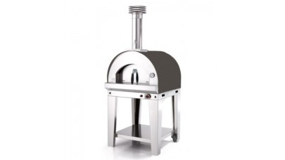 Fontana - Margherita Gas Pizza Oven with Trolley - Anthracite