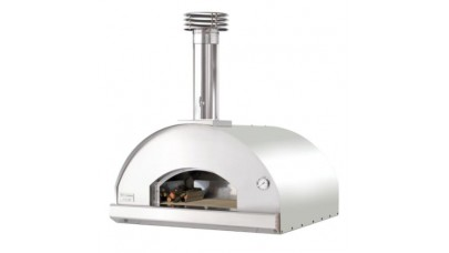Fontana - Marinara Built in Wood Pizza Oven - Stainless Steel