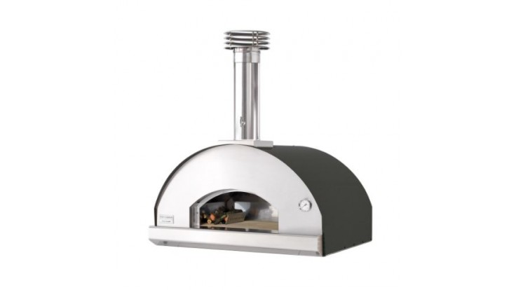 Fontana - Marinara Built in Wood Pizza Oven - Anthracite