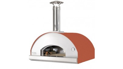 Fontana - Marinara Built in Wood Pizza Oven - Rosso