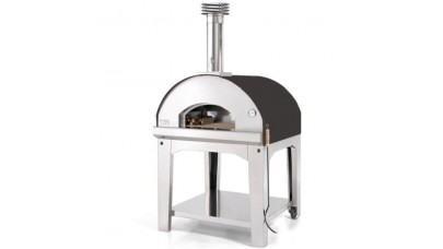 Fontana - Marinara Wood Pizza Oven with Trolley - Anthracite
