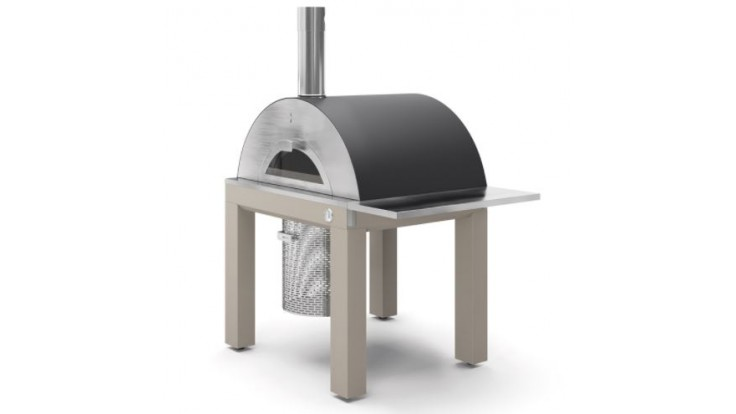 Fontana - Riviera Wood Pizza Oven with Trolley