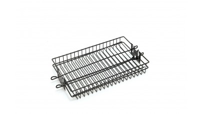 Grill Pro Deluxe Non-Stick Flat Spit Basket